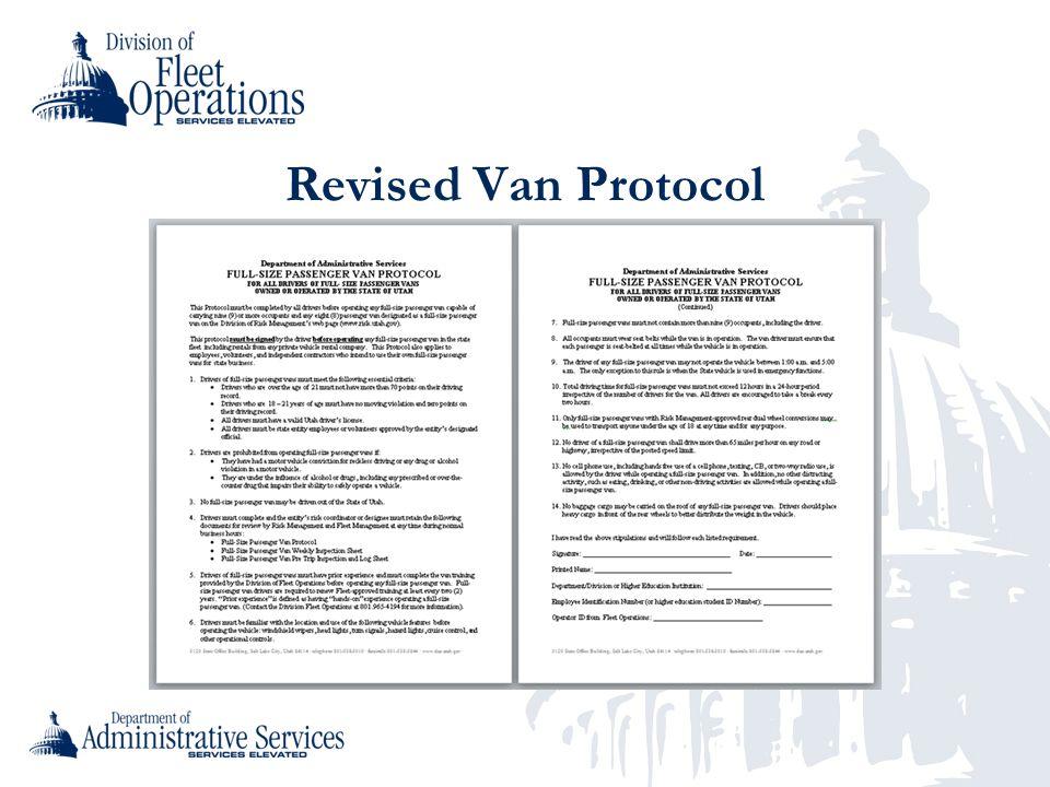 Revised Van Protocol