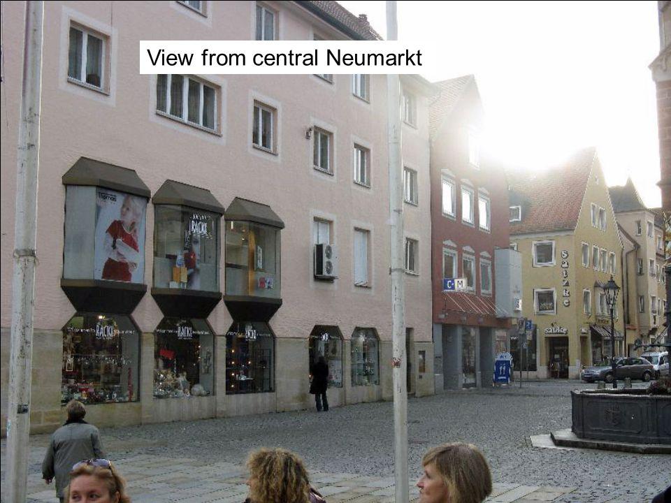View from central Neumarkt