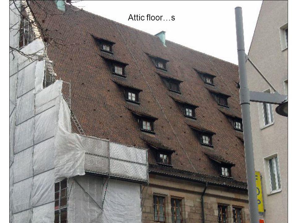Attic floor…s