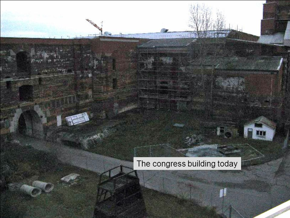 The congress building today