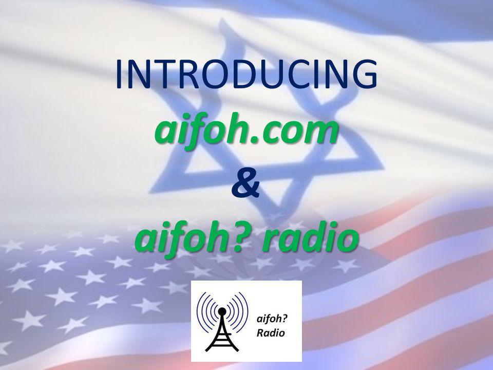 aifoh.com aifoh radio INTRODUCING aifoh.com & aifoh radio
