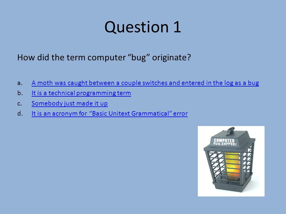 Question 18 Which of the following is not an operating system.