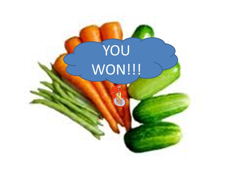 YOU WON!!!
