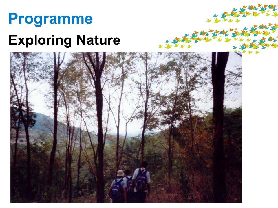 Programme Exploring Nature