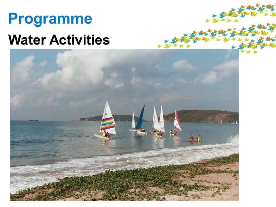 Programme Water Activities