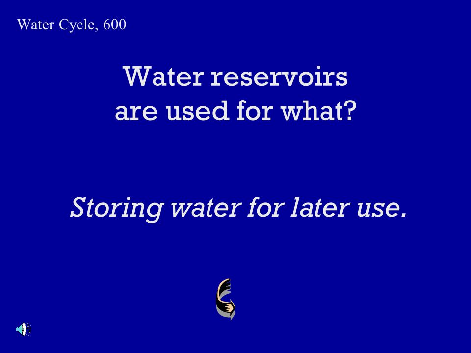 Why is the ocean salty? Water Cycle, 500 As fresh water cycles through the water cycle, fresh water evaporates and leaves minerals behind. Over time,