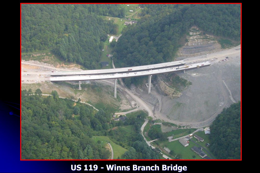 US 119 - Winns Branch Bridge