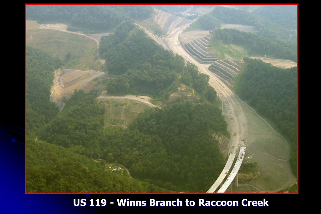 US 119 - Winns Branch to Raccoon Creek