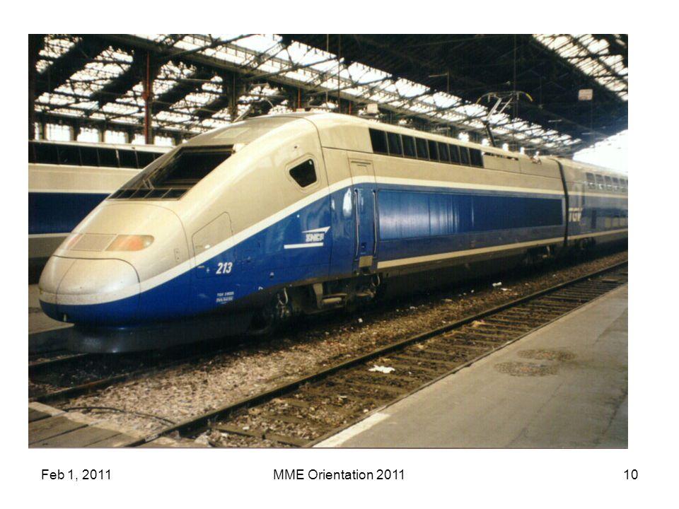 Feb 1, 2011MME Orientation 201110