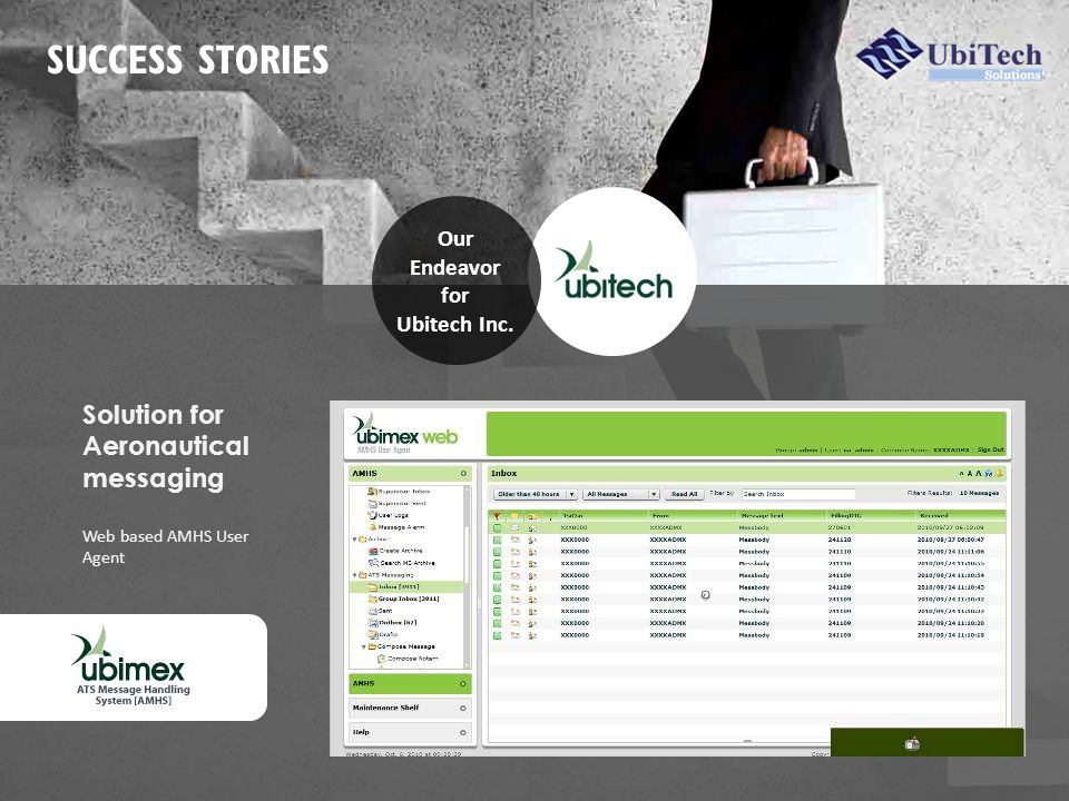 SUCCESS STORIES Our Endeavor for Ubitech Inc.