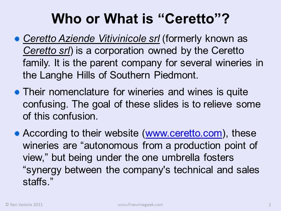 Italian Winery Terminology In Italian, Azienda means business.
