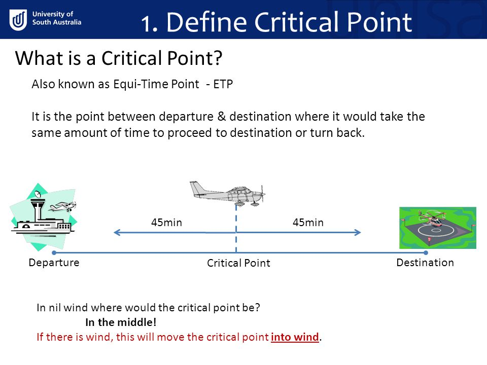 1.Define Critical Point What is a Critical Point.