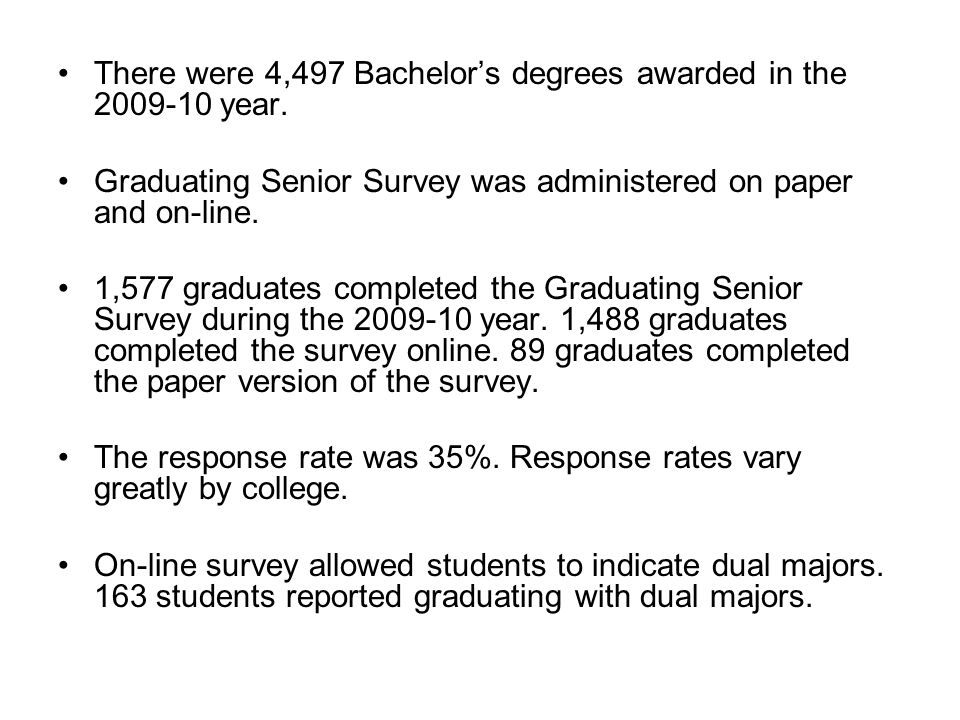 There were 4,497 Bachelors degrees awarded in the 2009-10 year.