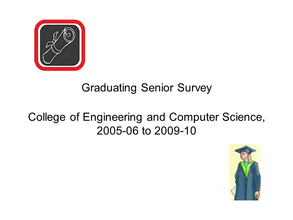Graduating Senior Survey College of Engineering and Computer Science, 2005-06 to 2009-10