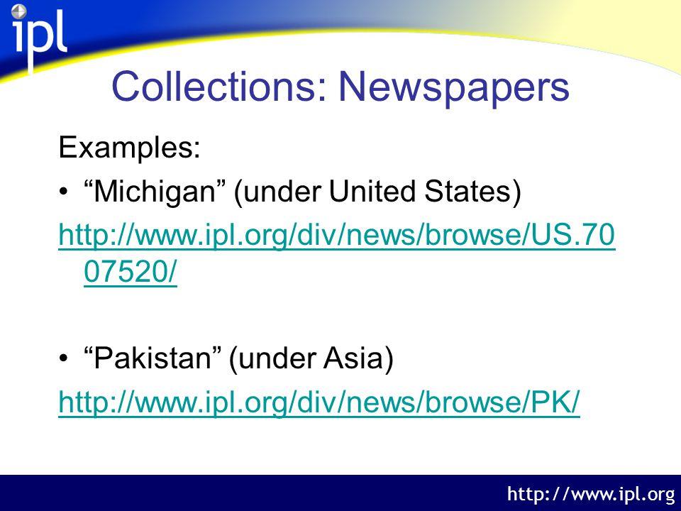 The Internet Public Library http://www.ipl.org Teacher Questions 3.