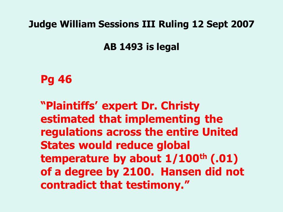 Pg 46 Plaintiffs expert Dr.