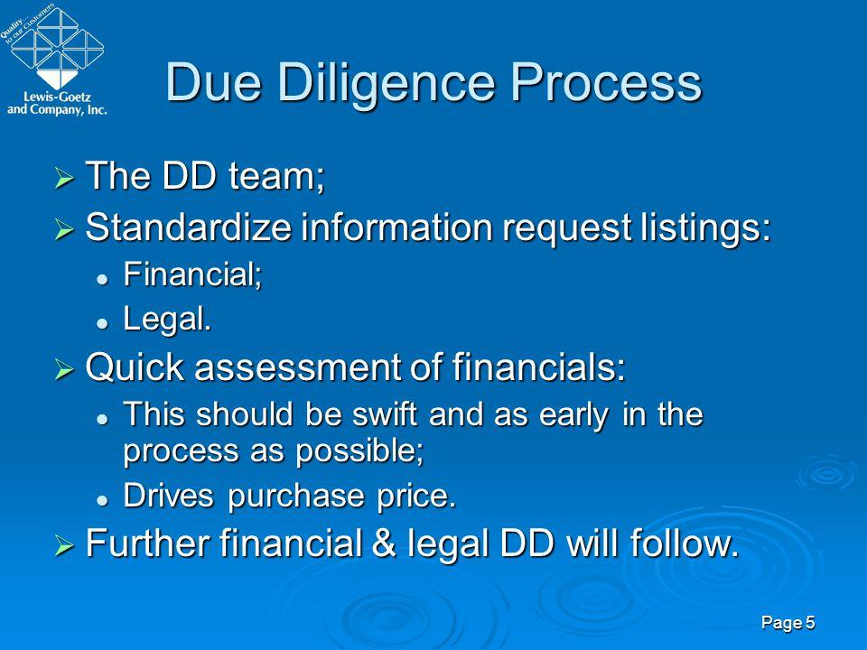 Page 6 Large Deals vs.
