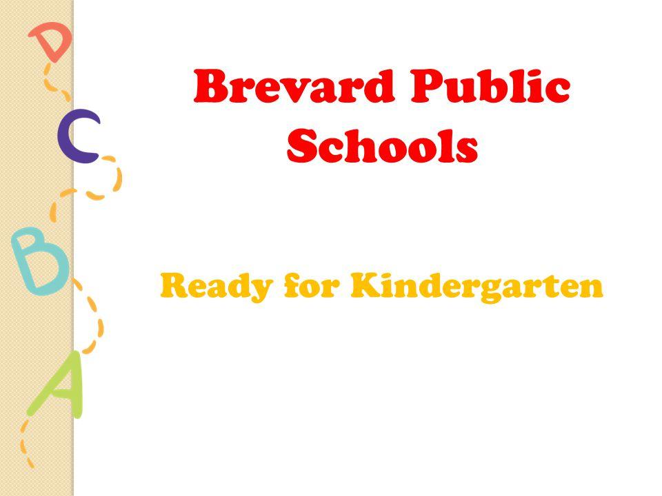Brevard Public Schools Ready for Kindergarten