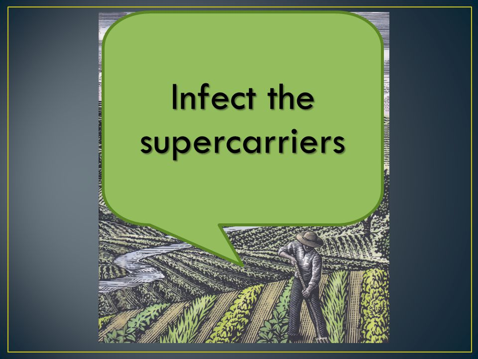 Infect the supercarriers