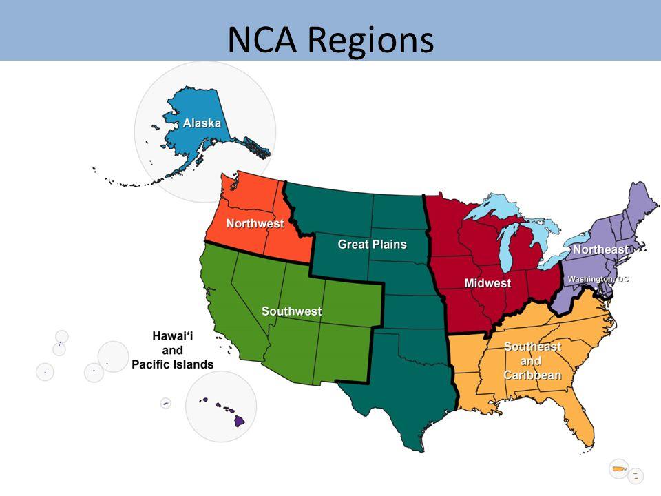 NCA Regions