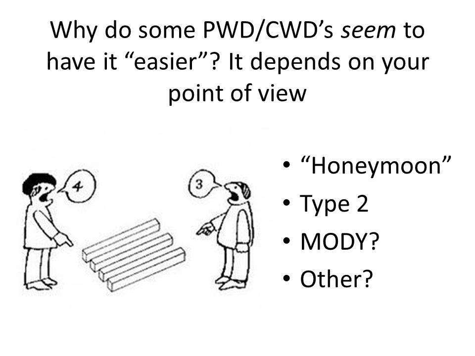 Why do some PWD/CWDs seem to have it easier.