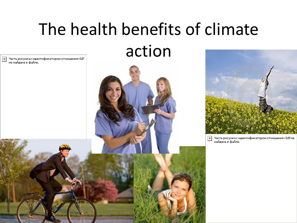 The health benefits of climate action