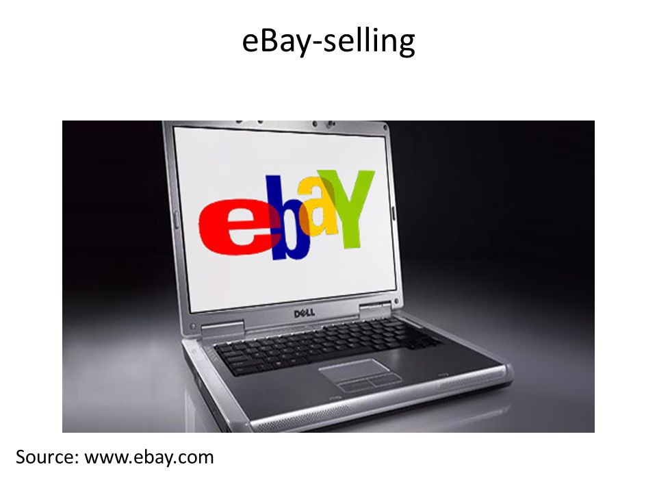 eBay-selling Source: www.ebay.com