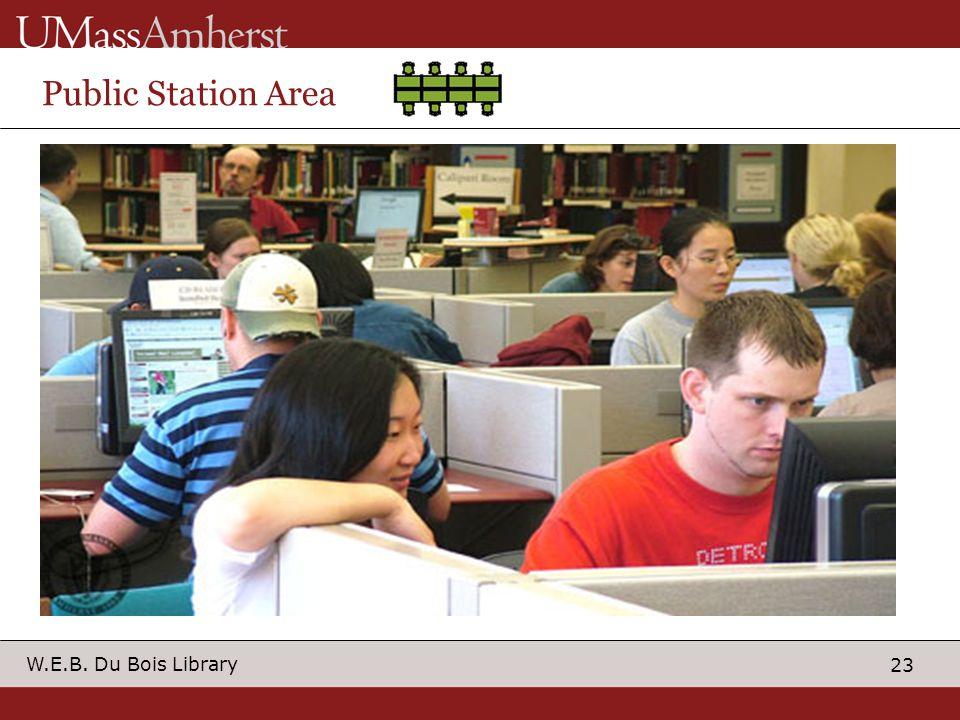 23 W.E.B. Du Bois Library Public Station Area