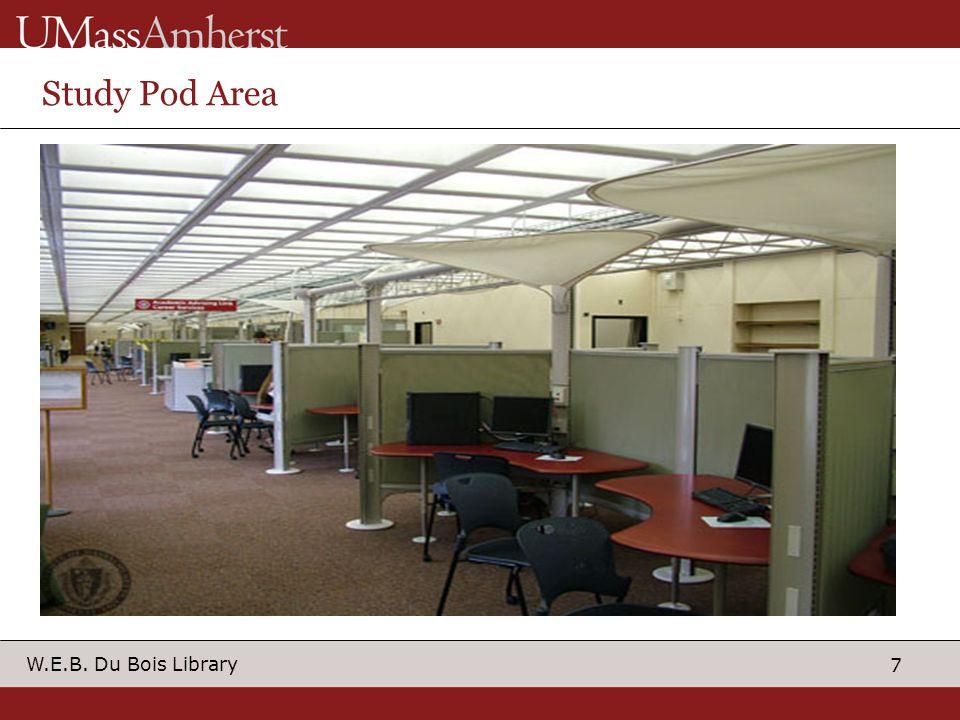 7 W.E.B. Du Bois Library Study Pod Area