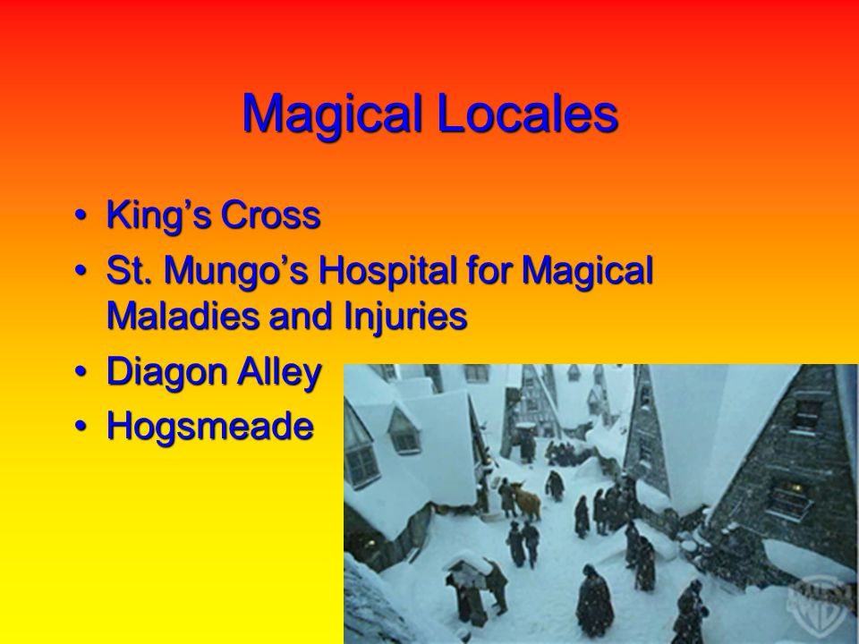 Magical Locales Kings CrossKings Cross St. Mungos Hospital for Magical Maladies and InjuriesSt.