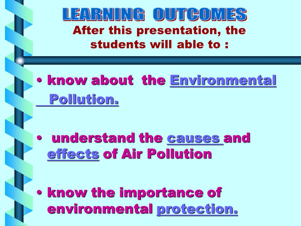 know about the Environmentalknow about the EnvironmentalEnvironmental Pollution.