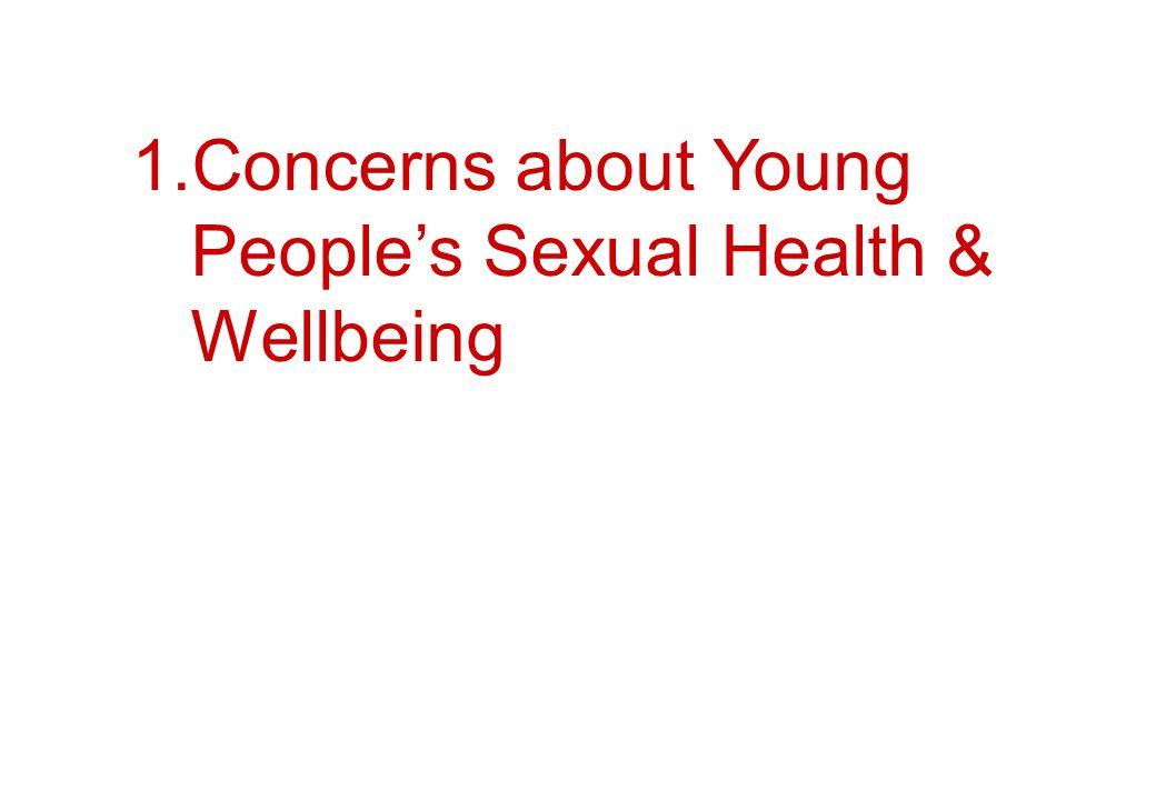 a) The wider social culture.b) Sexual behaviour of young people.