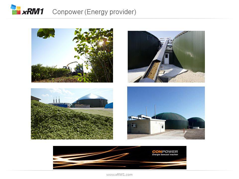 www.xRM1.com Conpower (Energy provider)