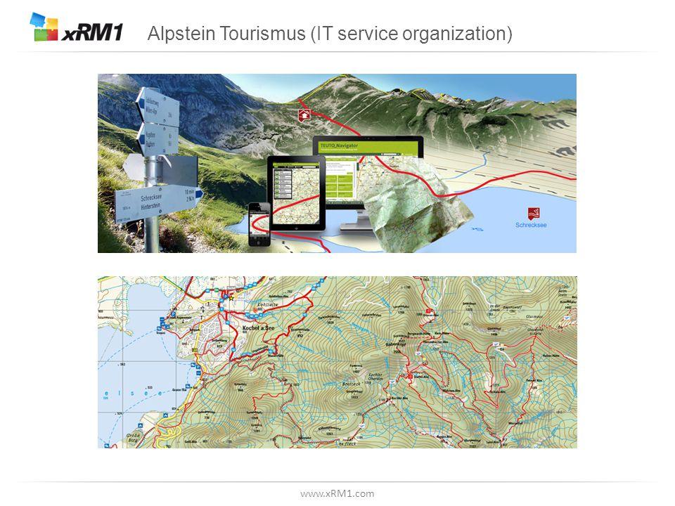 www.xRM1.com Alpstein Tourismus (IT service organization)