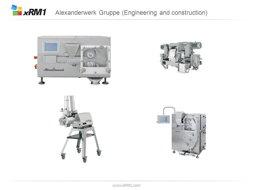 www.xRM1.com Alexanderwerk Gruppe (Engineering and construction)
