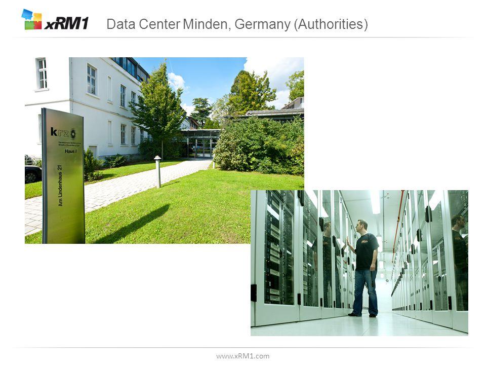 www.xRM1.com Data Center Minden, Germany (Authorities)