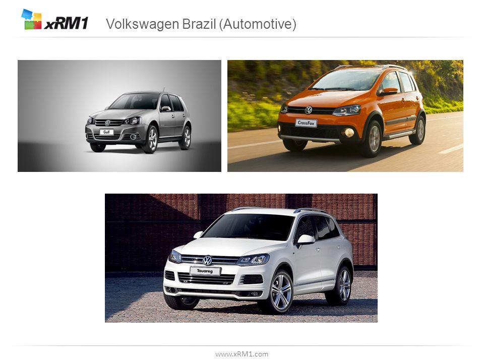 www.xRM1.com Volkswagen Brazil (Automotive)