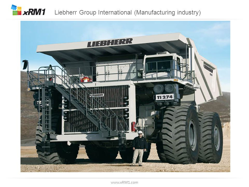 www.xRM1.com Liebherr Group International (Manufacturing industry)