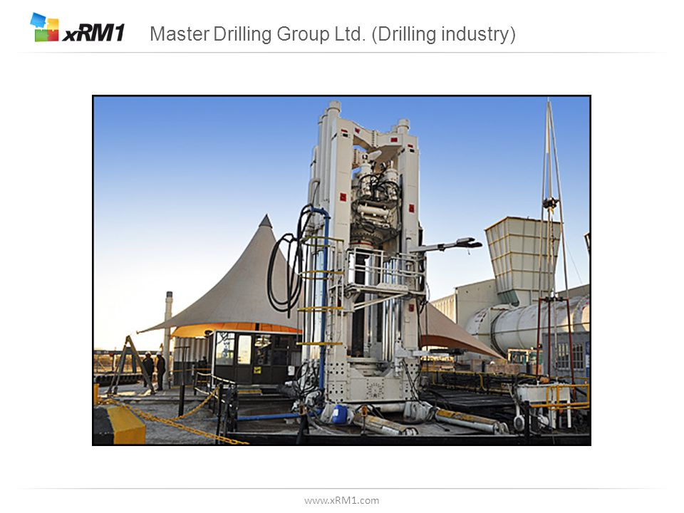 www.xRM1.com Master Drilling Group Ltd. (Drilling industry)