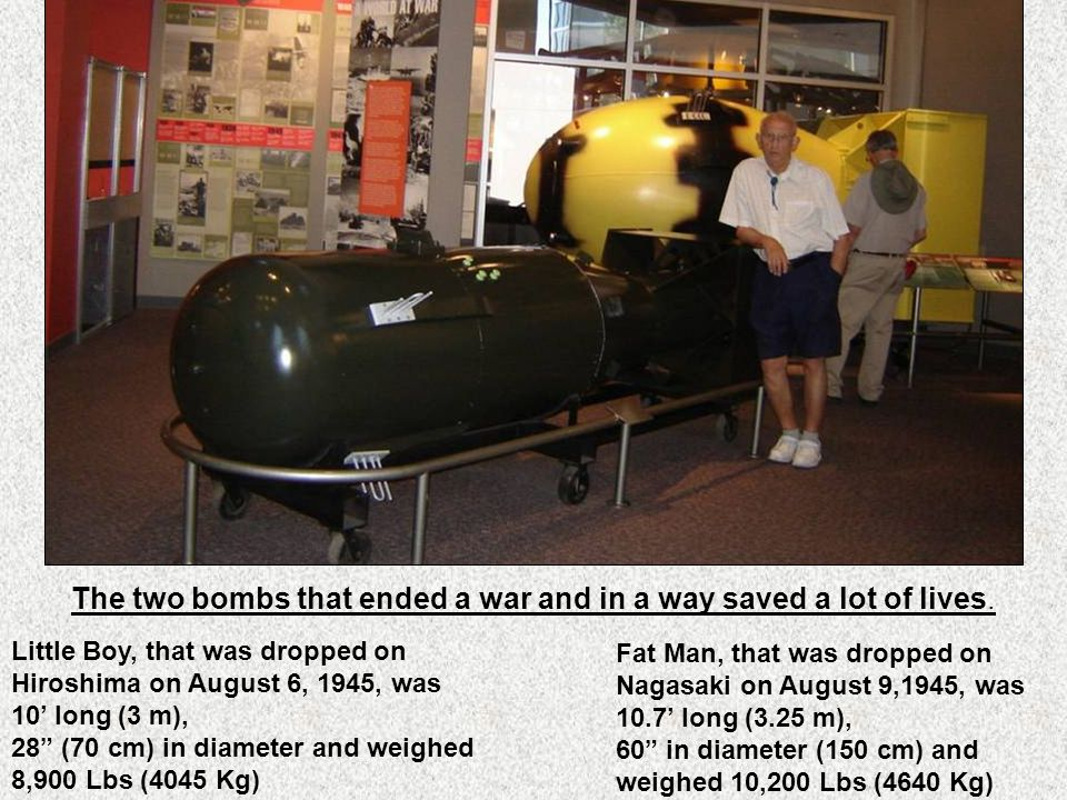 The museum teaches visitors about the development of the atomic age from its beginning during World War II up until today.