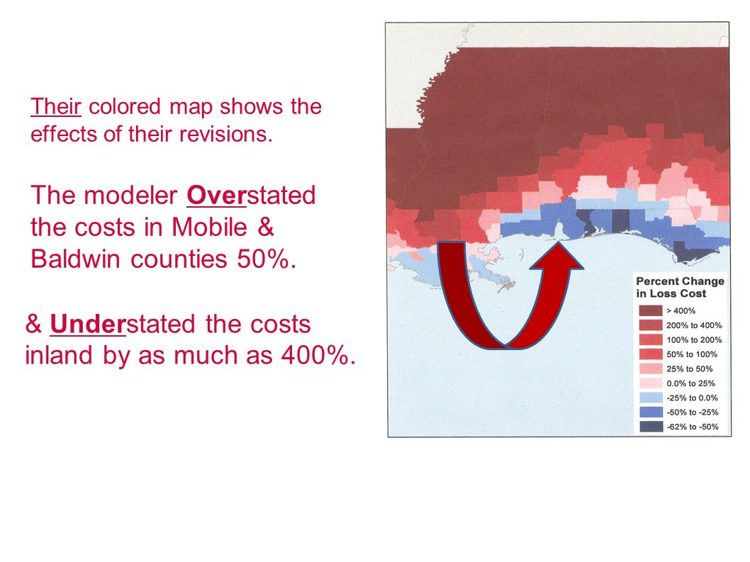 Their colored map shows the effects of their revisions.