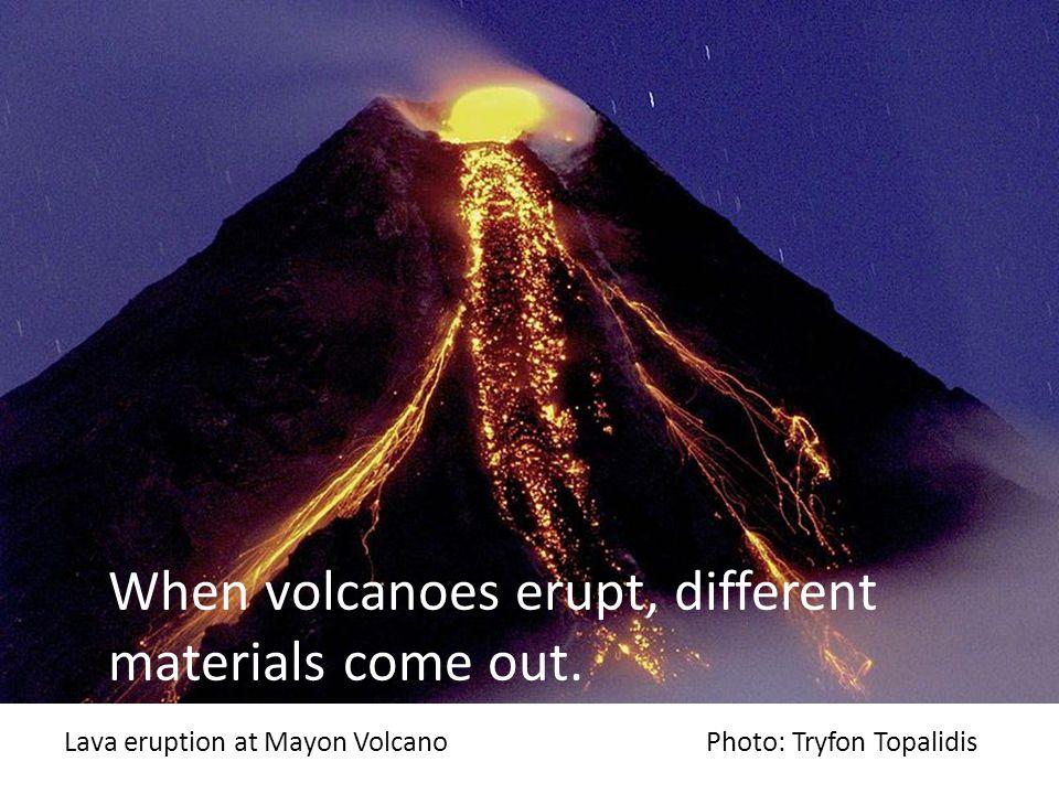 Lava flow at Mayon Volcano Photo: Tomas Tam