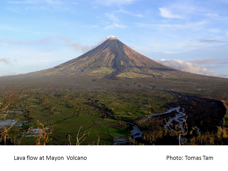 Lahars at Mayon Photo: E. Obille Jr.