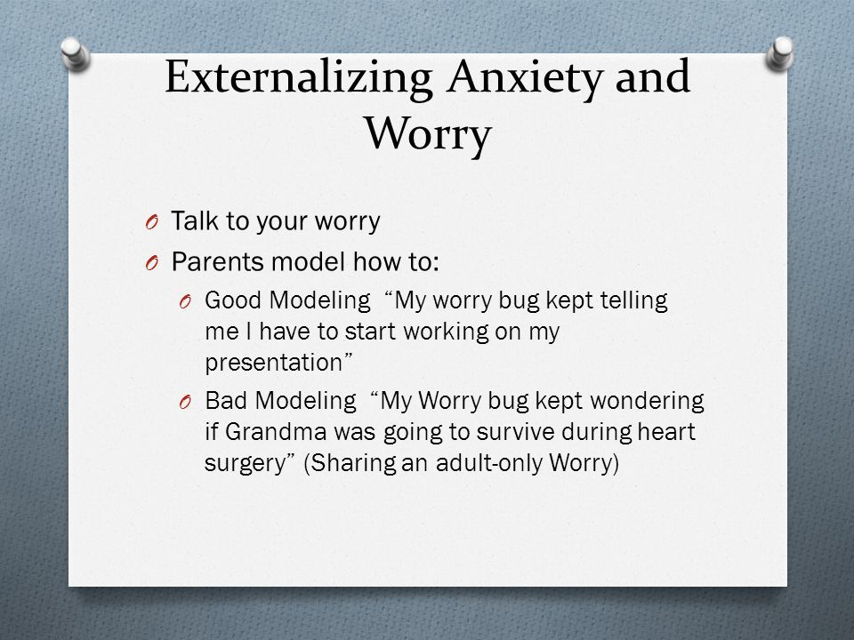 Different Ways Kids Can Talk To Their Worries Expect It Take Care of It Boss It Around