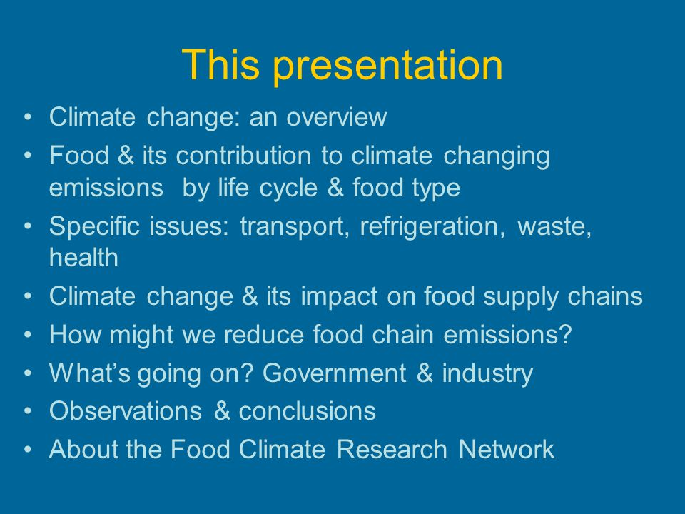 5. Reducing foods GHG contribution