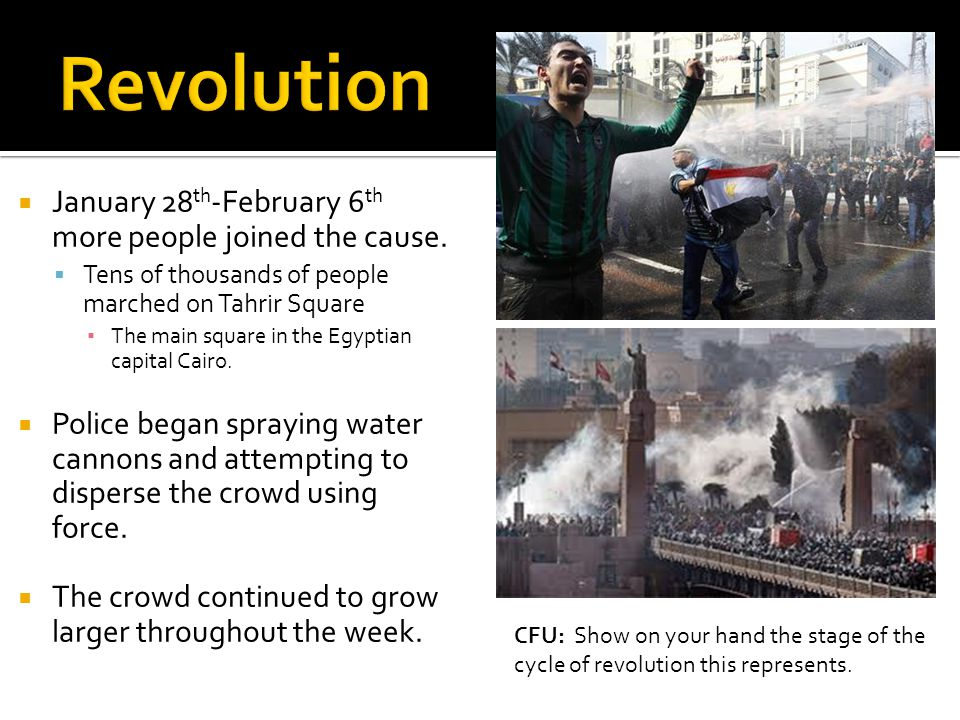 January 28 th -February 6 th more people joined the cause.