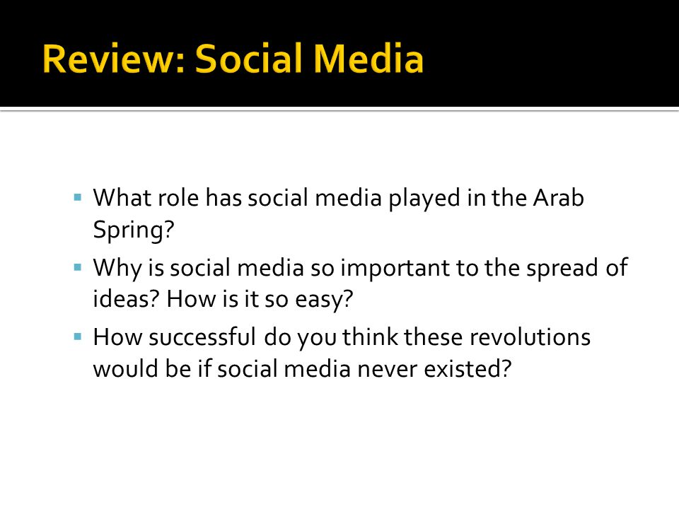 1.Which African country began the Arab Spring. A.