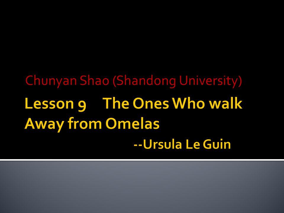 Chunyan Shao (Shandong University)