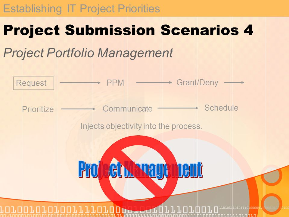 Establishing IT Project Priorities What is PPM.