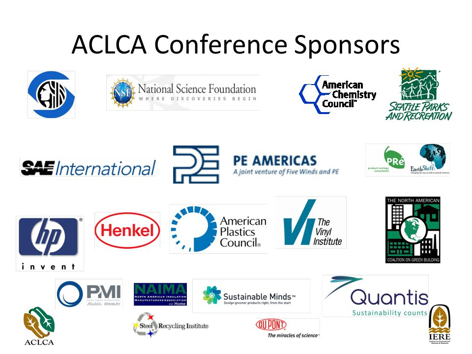 ACLCA Conference Sponsors